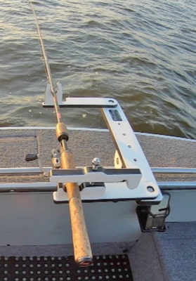 single fishing rod holder